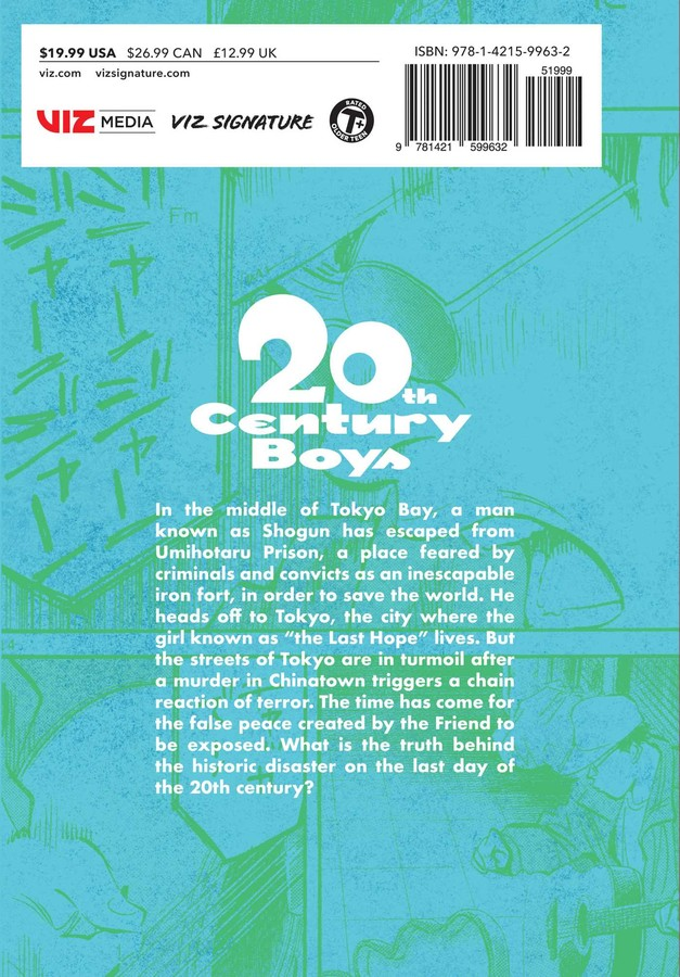 20th Century Boys The Perfect Edition Manga Volume 4