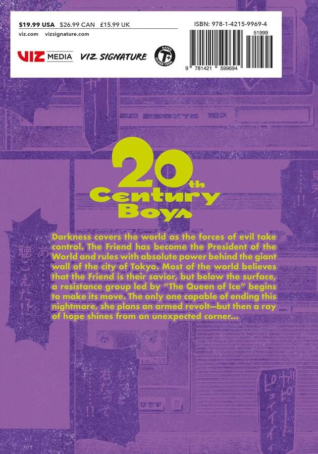 20th Century Boys The Perfect Edition Manga Volume 9