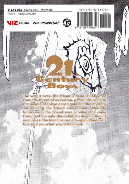 21st Century Boys The Perfect Edition Manga