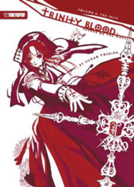 Trinity Blood Reborn on the Mars Novel 2
