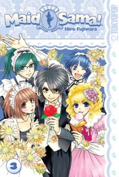 Maid Sama Manga Volume 3