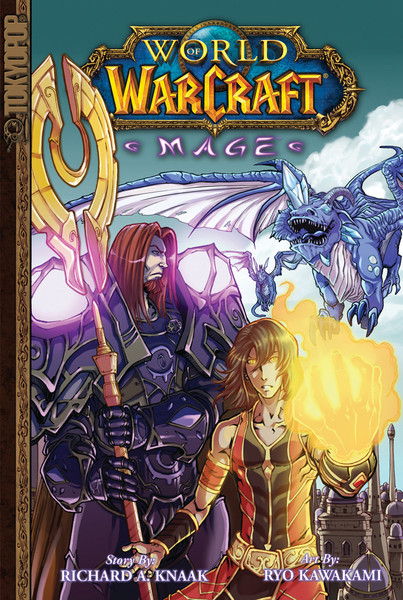 World of Warcraft Mage Manga