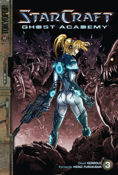 Starcraft Ghost Academy Manga Volume 3