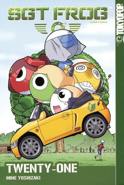Sgt. Frog Manga Volume 21