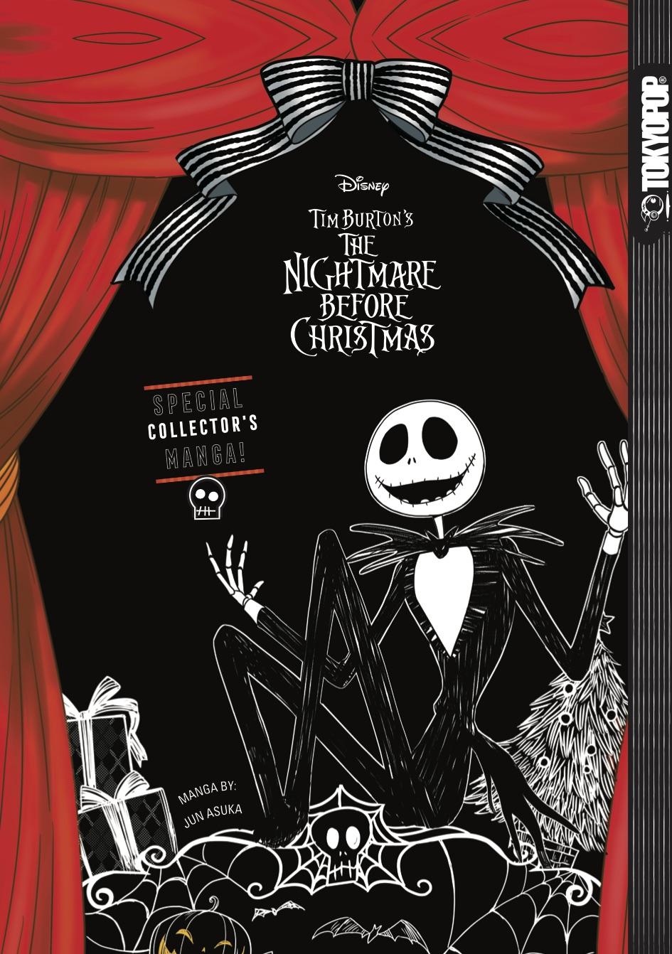 The Nightmare Before Christmas Manga (Hardcover)