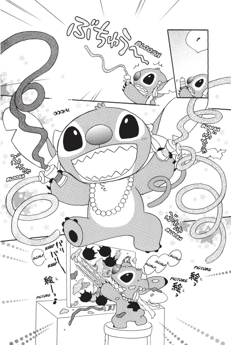 Stitch! Manga Volume 1
