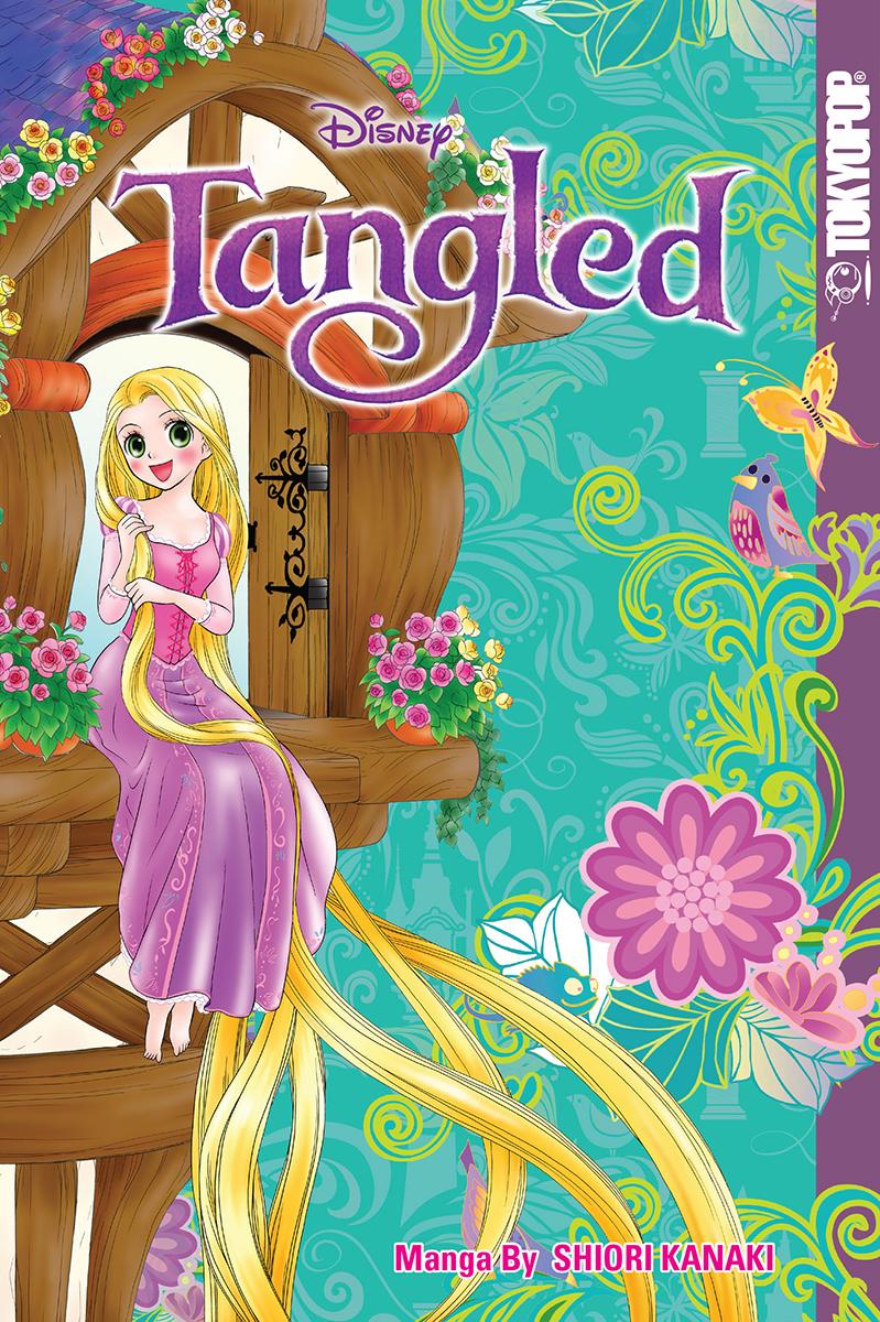 Tangled Manga 9781427857040