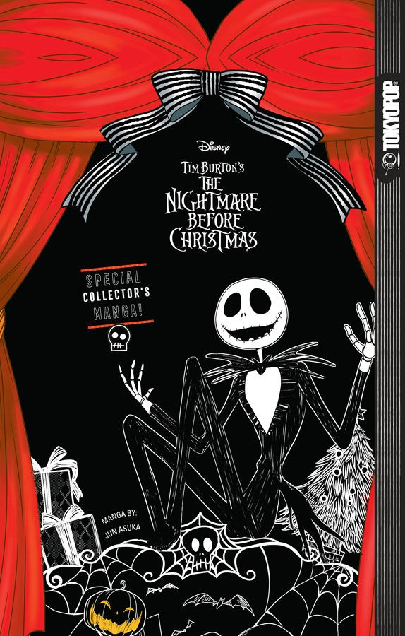 Nightmare Before Christmas Manga