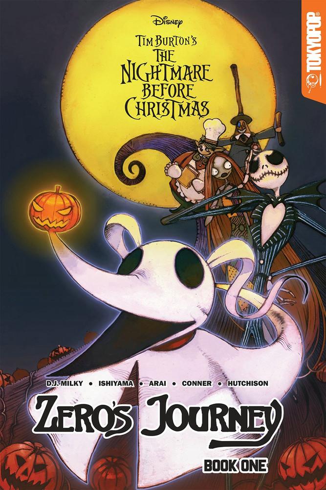 The Nightmare Before Christmas Zero\'s Journey Manga