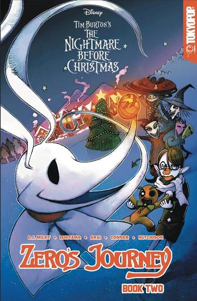 Nightmare Before Christmas Zeros Journey Manga Volume 2