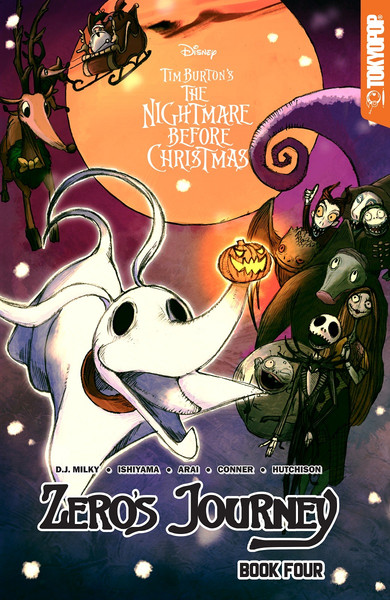 The Nightmare Before Christmas Zero's Journey Manga Volume 4