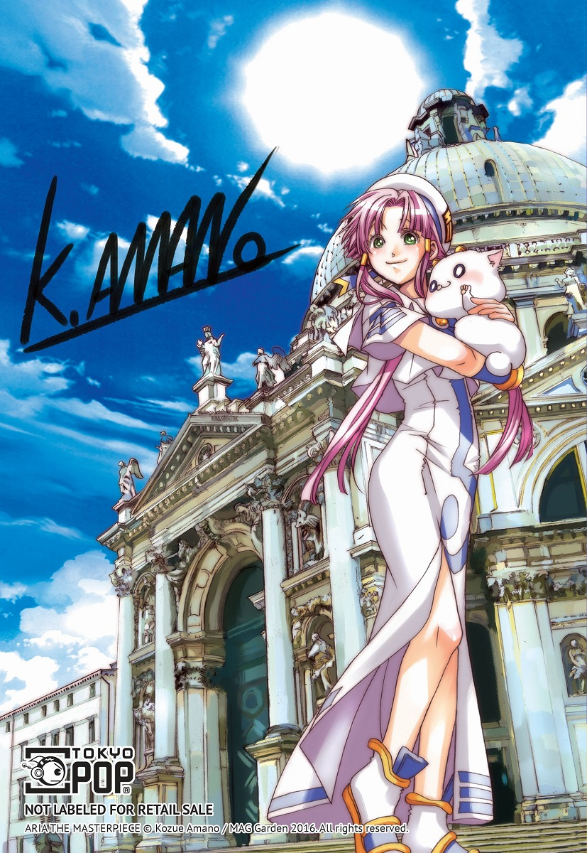 Aria The Masterpiece Manga Volume 1 + GWP