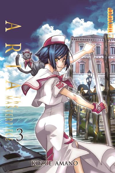 Aria The Masterpiece Manga Volume 3 + GWP