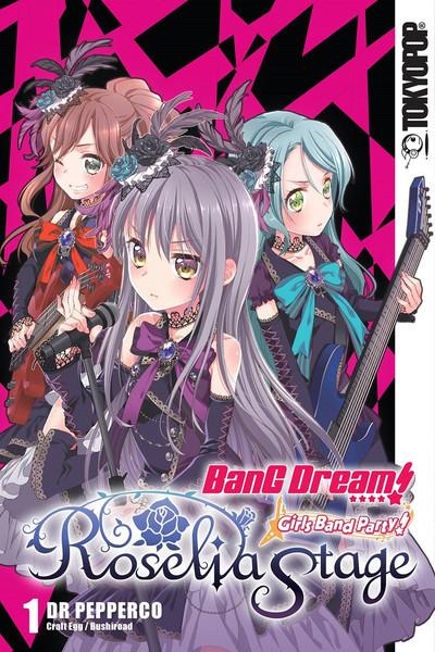 BanG Dream! Girls Band Party! Roselia Stage Manga Volume 1
