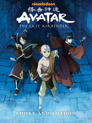 Avatar The Last Airbender Smoke and Shadow Manga Library Edition (Hardcover)