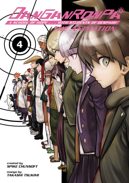 Danganronpa The Animation Manga Volume 4