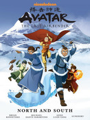 Avatar The Last Airbender North and South Manga Library Edition (Hardcover)