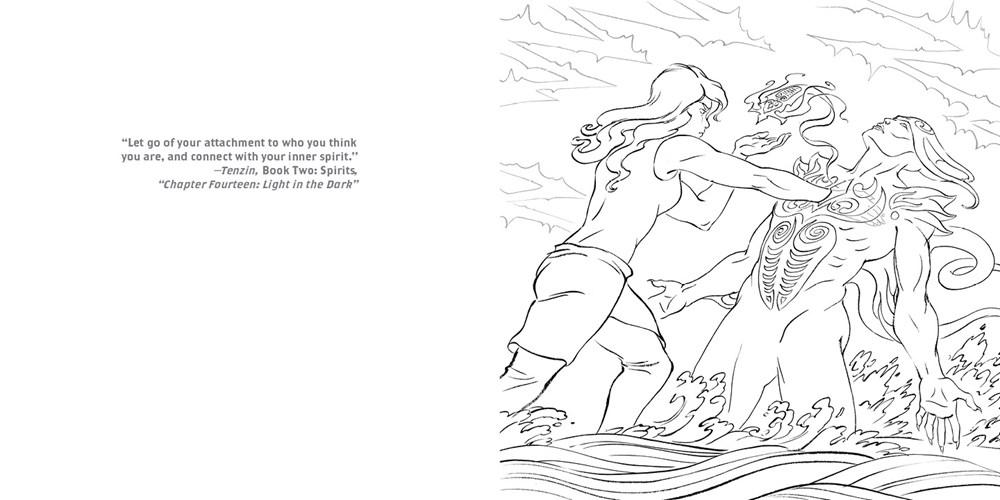 The Legend of Korra Coloring Book