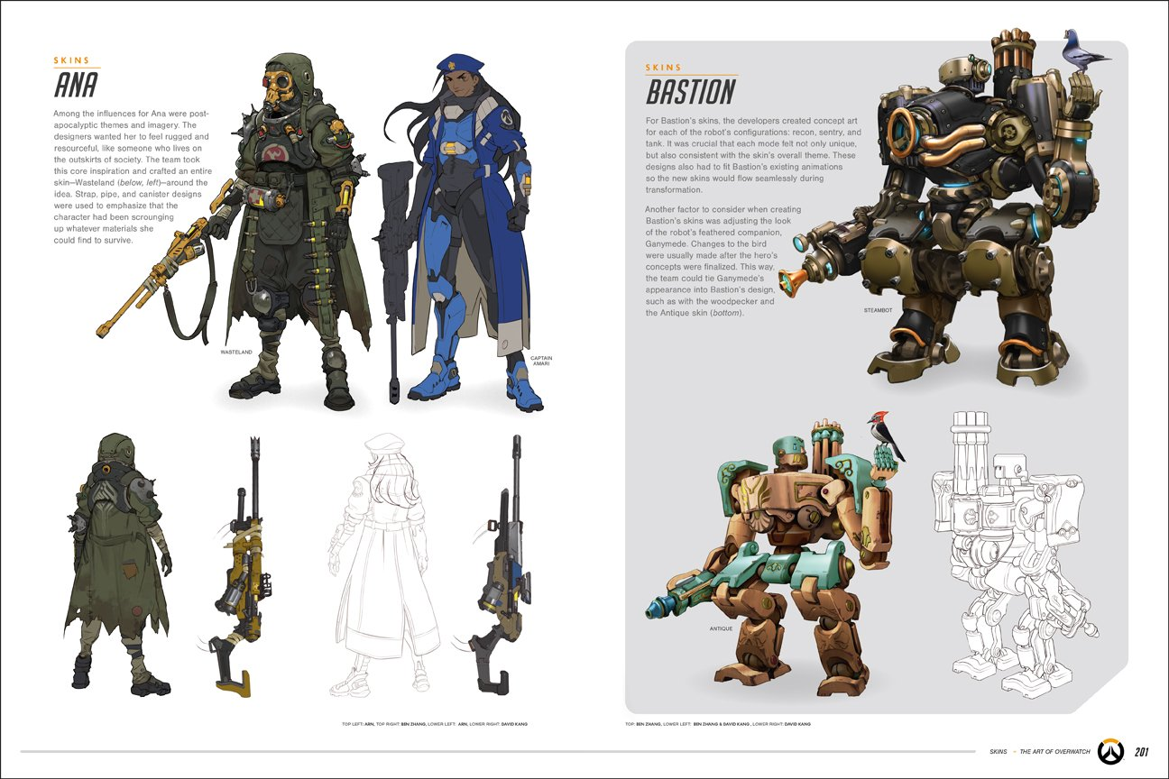 Character Design Pdf Books : The art of overwatch limited edition hardcover