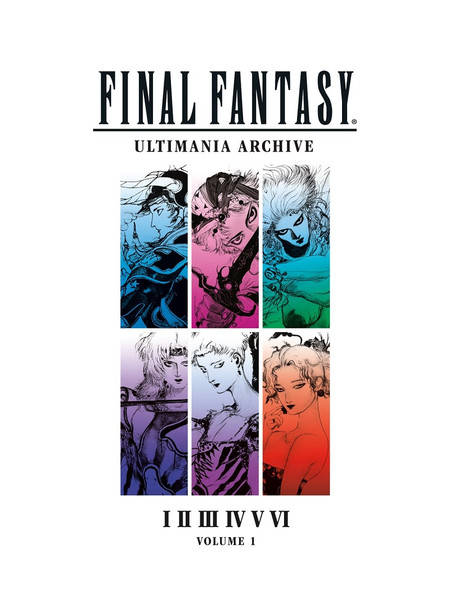 Final Fantasy Ultimania Archive Artbook Volume 1 (Hardcover)