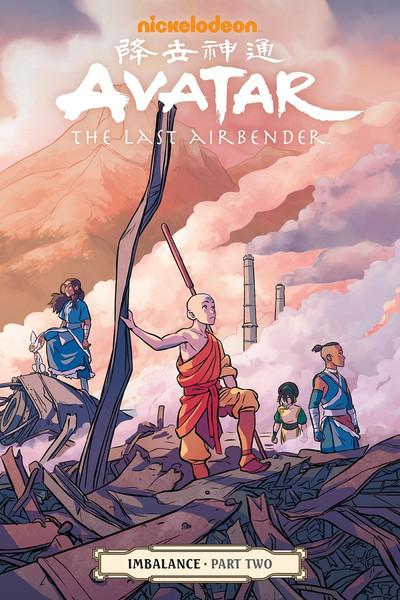 Avatar The Last Airbender Imbalance Manga Volume 2