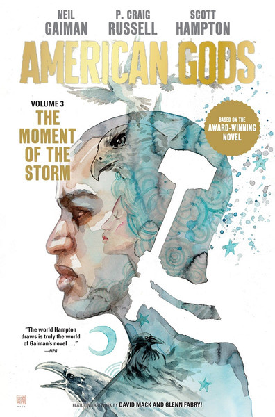 American Gods Volume 3 The Moment of the Storm Graphic Novel (Hardcover)