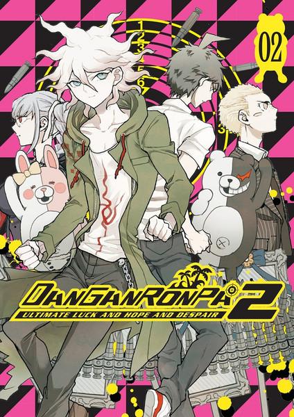 Danganronpa 2 Ultimate Luck and Hope and Despair Manga Volume 2