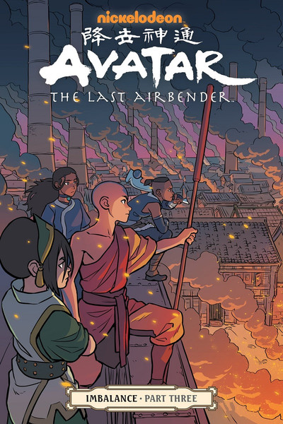 Avatar The Last Airbender Imbalance Manga Volume 3