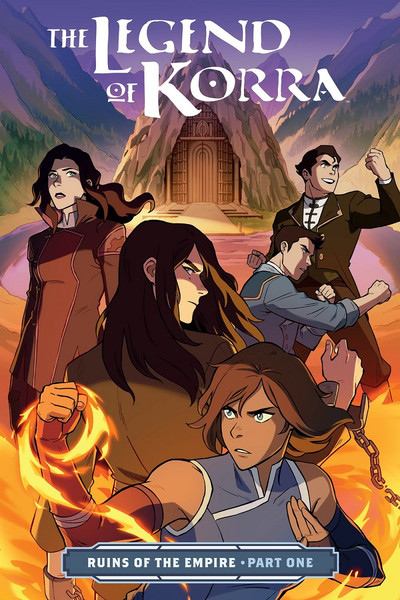 The Legend of Korra Ruins of the Empire Manga Volume 1