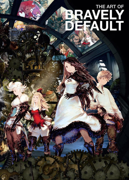 The Art of Bravely Default Artbook (Hardcover)