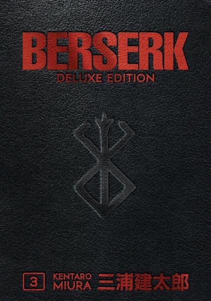 Berserk Deluxe Edition Manga Omnibus Volume 3 (Hardcover)