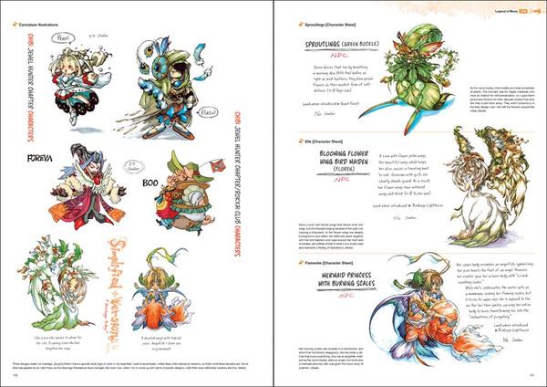 Art of Mana Artbook (Hardcover)