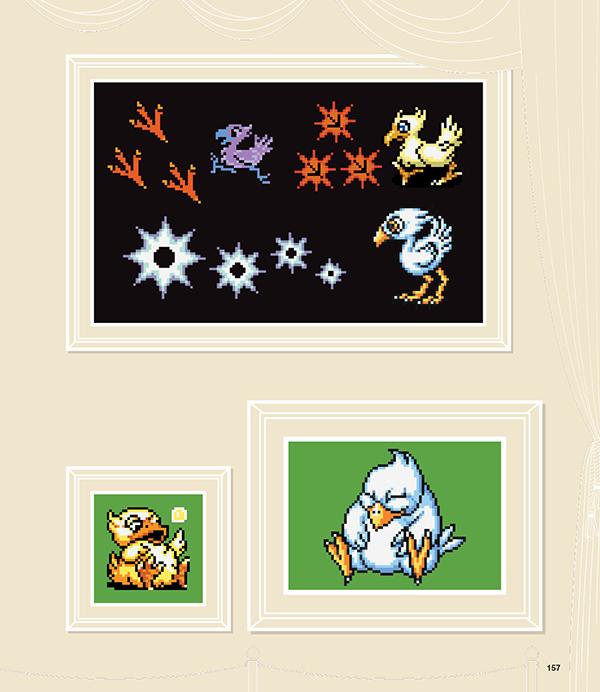 FF DOT The Pixel Art of Final Fantasy (Hardcover)