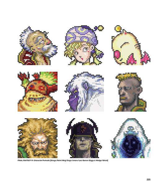 FF DOT The Pixel Art of Final Fantasy (Hardcover)