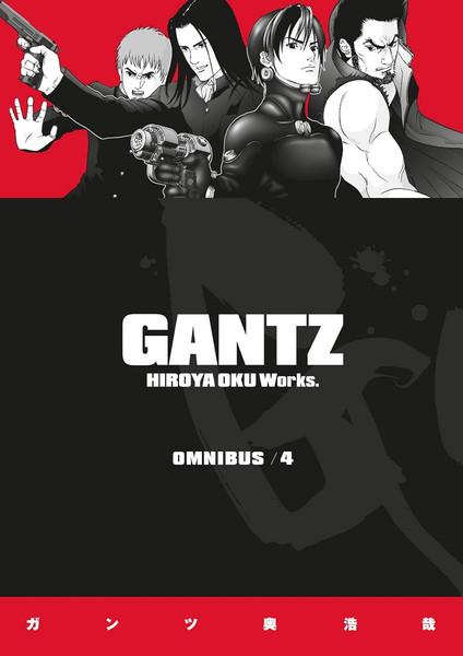 Gantz Manga Omnibus Volume 4