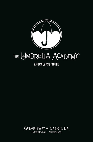 The Umbrella Academy Volume 1 Apocalypse Suite Library Edition Graphic Novel (Hardcover)