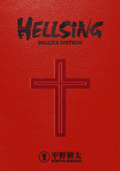 Hellsing Deluxe Edition Manga Omnibus Volume 1 (Hardcover)