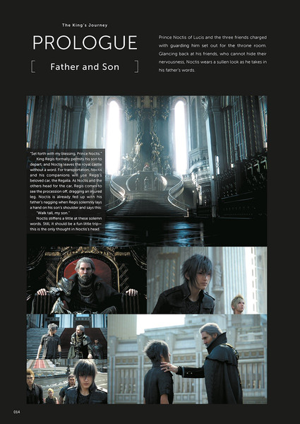 Final Fantasy XV Official Works (Hardcover)