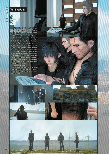 Final Fantasy XV Official Works Limited Edition (Hardcover)