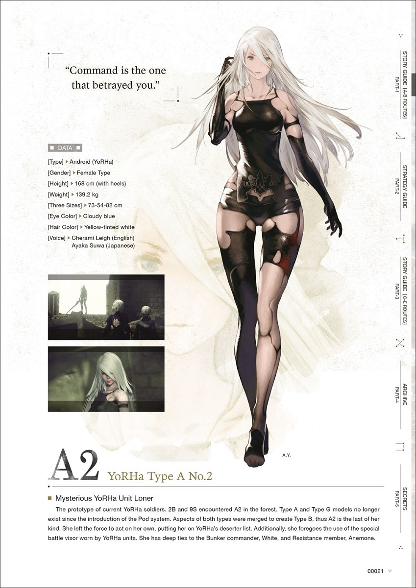 NieR Automata World Guide Artbook Volume 2 (Hardcover)