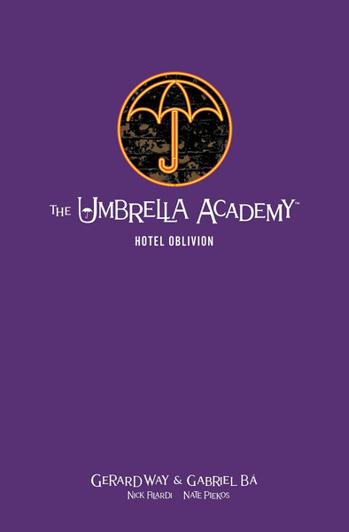 The Umbrella Academy Volume 3 Hotel Oblivion Library Edition Graphic Novel (Hardcover)