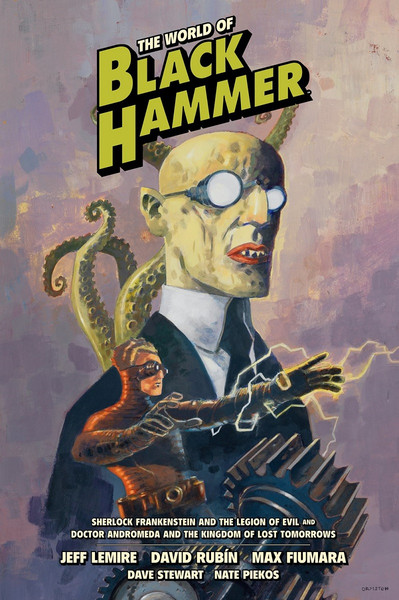 The World of Black Hammer Graphic Novel Volume 1 Library Edition (Hardcover)