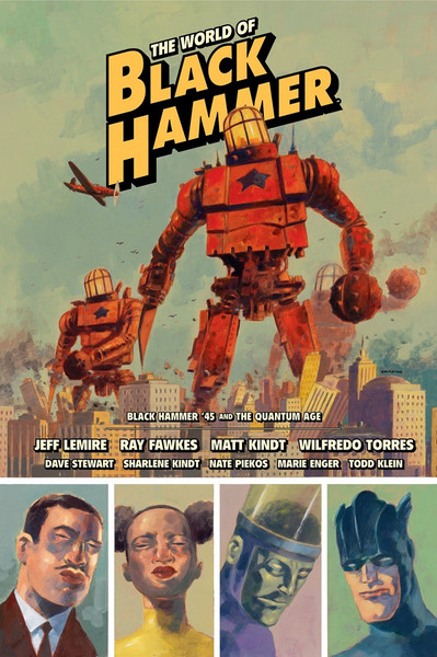 The World of Black Hammer Graphic Novel Volume 2 Library Edition (Hardcover)