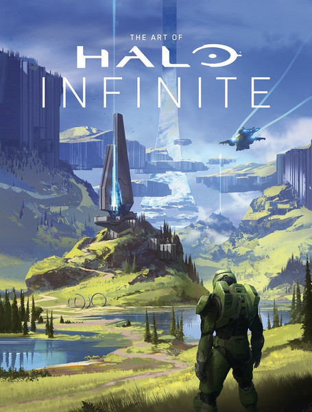 The Art of Halo Infinite Artbook (Hardcover)