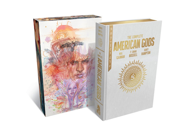 American Gods The Complete Collection Graphic Novel (Hardcover)