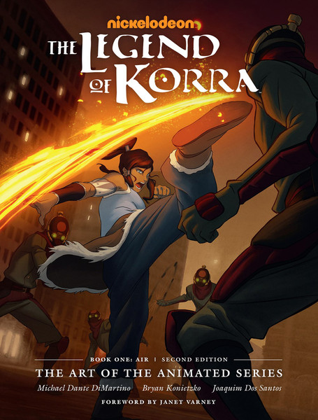 The Legend of Korra The Art of the Animated Series Book One Air Second Edition (Hardcover)