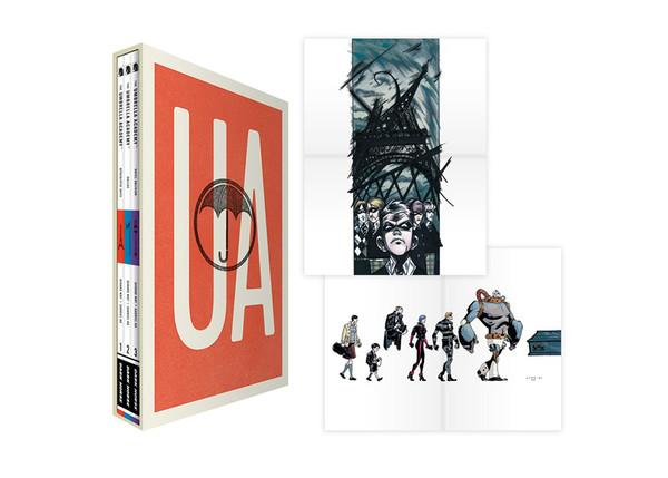 The Umbrella Academy Graphic Novel Box Set