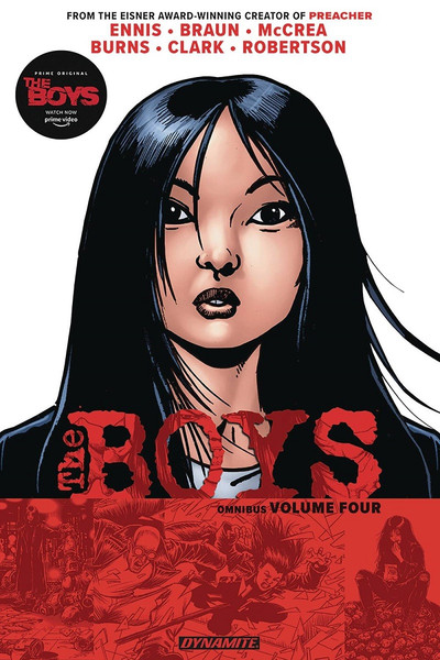 The Boys Graphic Novel Omnibus Volume 4