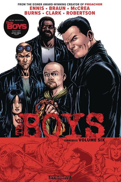The Boys Graphic Novel Omnibus Volume 6