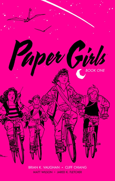 Paper Girls Book One Graphic Novel (Hardcover)